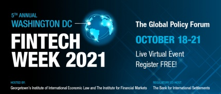 2021 DC FintechWeek Banner